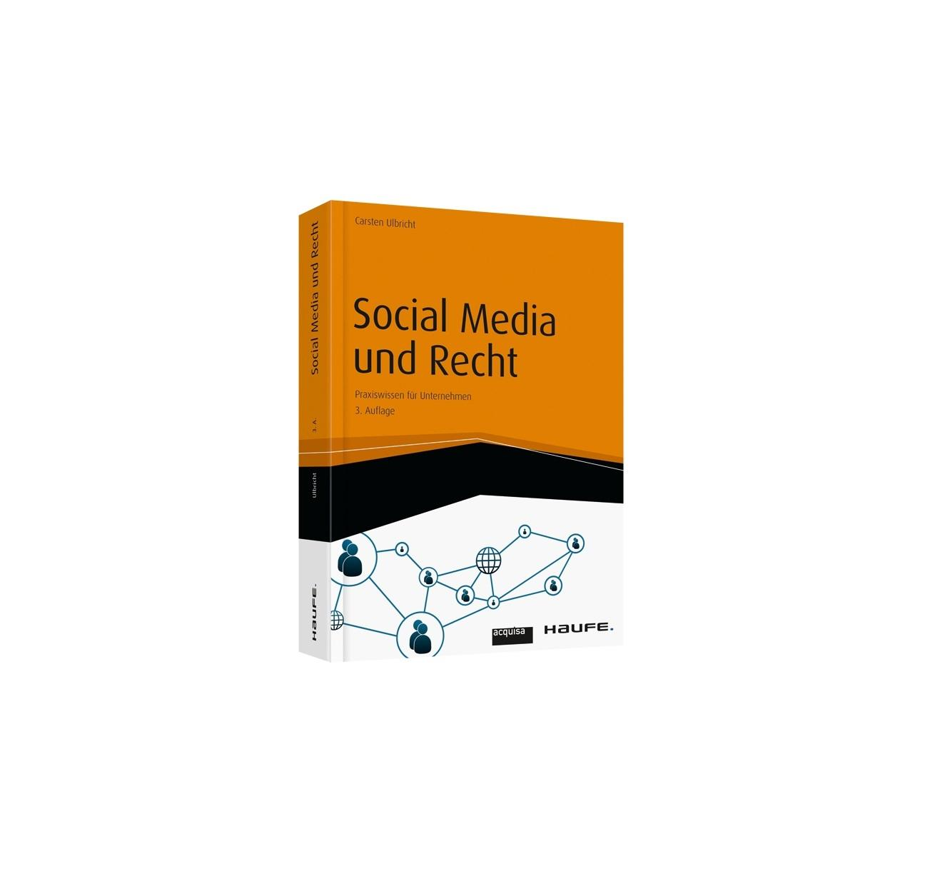 """Weil attraktiver Content nicht ausreicht – unser Buchtipp """"Social Media und Recht""""."""